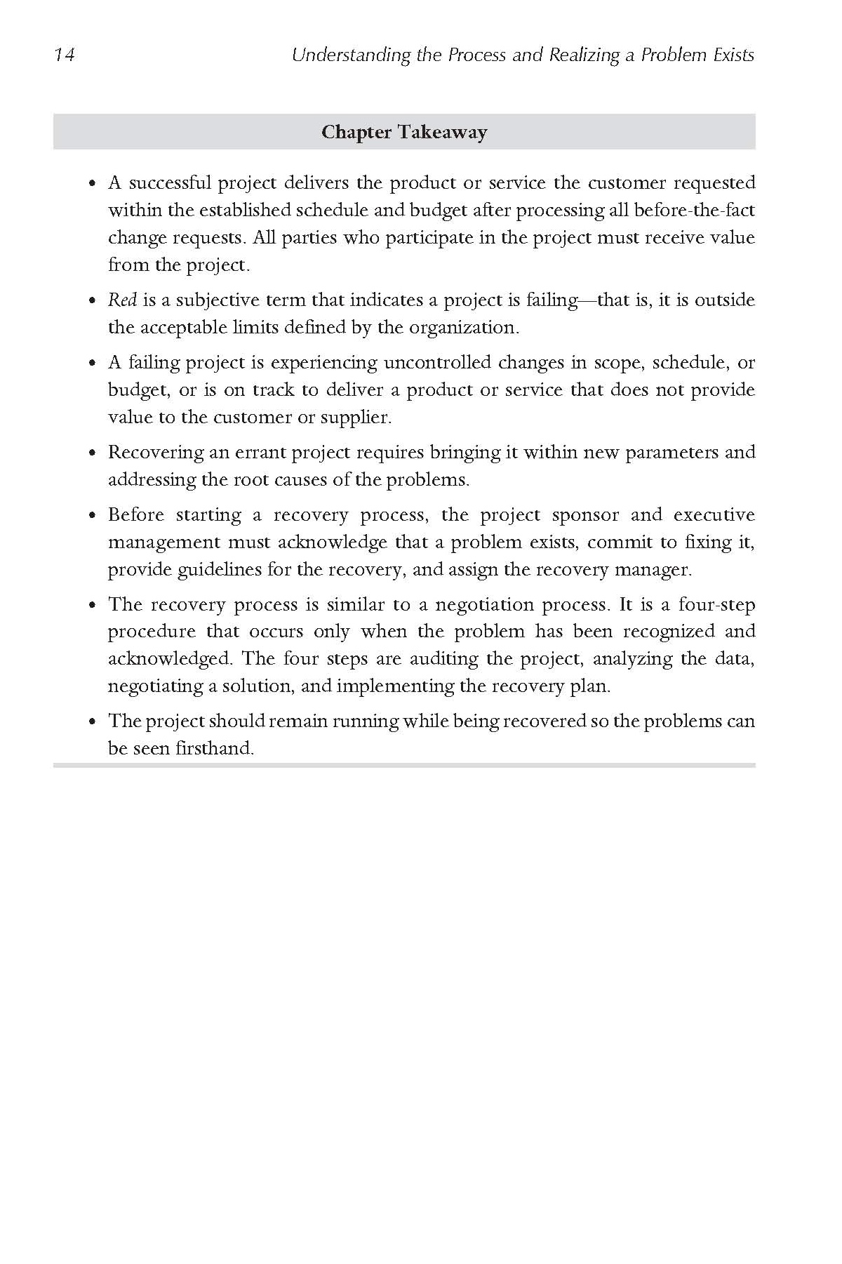 Rescue the Problem Project page 14